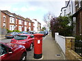 TQ2873 : Balham, postbox by Mike Faherty