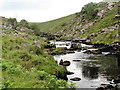 SX5683 : The River Tavy Below Watern Oke by Tony Atkin