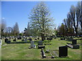 TQ2367 : Morden Cemetery by Ian Yarham