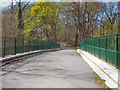 SD5807 : Haigh Country Park, Bridge over River Douglas by David Dixon