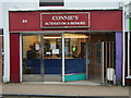 TQ3105 : Connie's  Alterations and Repairs, Baker Street by brightondj