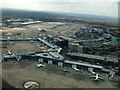 SJ8284 : Manchester Airport from the air by Thomas Nugent