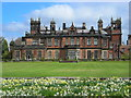 SJ8472 : Springtime at Capesthorne Hall by Mark Percy