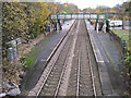 SJ7494 : Flixton railway station, Greater Manchester by Nigel Thompson