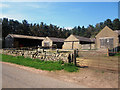 NU0427 : Stone buildings at Broomhouse farm (1) by Graham Robson