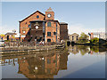 SD5705 : The Orwell at Wigan Pier by David Dixon