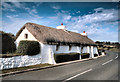 NX4502 : Thatched Cottage at Cranstal by David Dixon