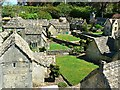 SP1620 : Houses and gardens, Model Village, The Old New Inn, Bourton-on-the-Water : Week 19