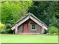TQ0451 : Hinemihi, Maori meeting house at Clandon Park, near Guildford by pam fray