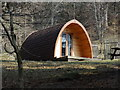 NY3606 : Eco pod near Rydal Hall by Ian Cunliffe