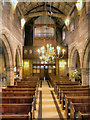 SJ8476 : St Mary's Church, Nave by David Dixon