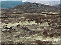 NH3842 : Moorland north of Loch na Bèiste by Trevor Littlewood