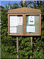 TM3686 : St.Lawrence Church Notice Board by Adrian Cable