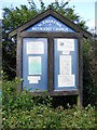 TM3887 : St.Andrews Methodist Church Notice Board by Adrian Cable