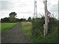SP1063 : Public footpath towards Morton Common Farm by Robin Stott