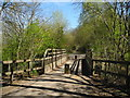 SJ9091 : Bridleway Bridge, Midshires Way/Brinnington by John Topping