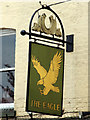 TQ7468 : The Eagle Tavern sign by Oast House Archive