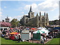 TQ7468 : Stalls by Rochester Cathedral by Oast House Archive