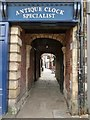 NY9364 : Old Church Passage, Hexham by Derek Voller