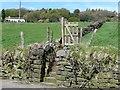 SE0321 : Footpath to Lumb Hill off Lumb Lane, Mill Bank by Humphrey Bolton