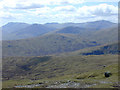 NN4844 : View west from Stùc an Lochain by Nigel Brown