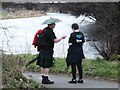 NS3979 : Ready for all weathers on the Kilt Walk by Barbara Carr