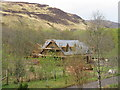 NH1981 : New house building in Strath More by M J Richardson