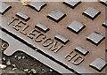 J2664 : Telecom HD access cover, Lisburn (2) by Albert Bridge