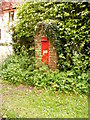 TM4088 : The Church Victorian Postbox by Adrian Cable