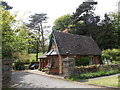 SO7138 : Upper Hall Estate lodge, Ledbury by John Grayson