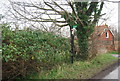 TR3059 : Footpath cropssing Cooper Street Drove by Nigel Chadwick