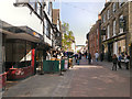 TR1457 : Canterbury High Street by David Dixon