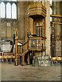 TR1557 : Canterbury Cathedral, Pulpit by David Dixon