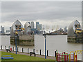 TQ4179 : The Thames Barrier by David Dixon