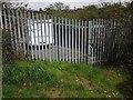 SX9064 : Metal barrier, Torre by Derek Harper