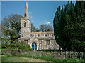 TL1381 : St.Andrew's Church, Steeple Gidding by Kim Fyson