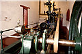 SJ7482 : Home Farm, Tatton Park - steam engine by Chris Allen