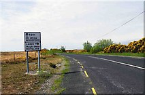 M7102 : The R351 road approaching the junction with the L4205 road, near Woodford, Co. Galway by P L Chadwick