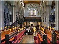 SE3033 : Leeds Minster (interior) : Week 21