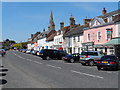 TL0967 : Kimbolton High Street by Bikeboy