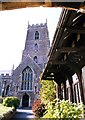 SS9943 : The Priory Church of St George in Dunster by Steve Daniels