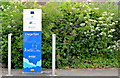 J1486 : E-car charging point, Antrim by Albert Bridge