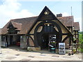 TQ5243 : The village shop and garage, Penshurst : Week 22