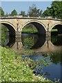 SK2570 : Chatsworth Bridge over the River Derwent : Week 23