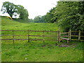 SJ7958 : Footpath and stile below Betchton House by Richard Law