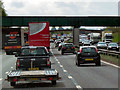 SJ7565 : Southbound M6 near Bradwell Green by David Dixon