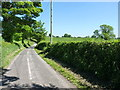 SJ8060 : Down the track to Deers Green and Dayhouse Farms by Richard Law