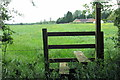 SP8725 : Ash Farm from the footpath by Philip Jeffrey