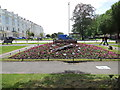TQ2904 : Floral Clock, Palmeira Square by Paul Gillett