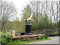 NS6113 : A memorial eagle by Ann Cook